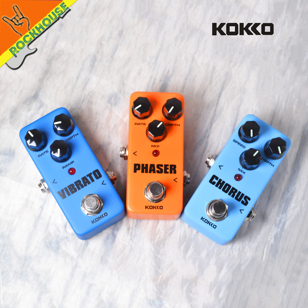 KOKKO Analog Chorus Guitar Effects Pedal Phaser Guitarra Pedal Tremolo Guitar Effect Pedal Stompbox True Bypass Free Shipping 1pc timer delay relay delay turn on delay turn off switch module with timer dc 12v