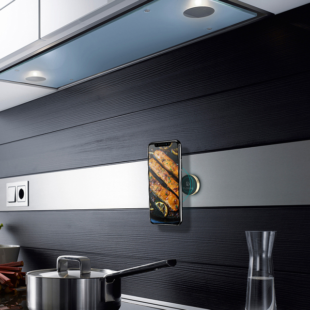 Magnetic Phone Holder For Wall