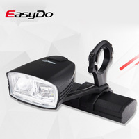 Easydo Smart High/Low Beam Bicycle Light Switch Intelligent MTB Road Bike Handlebar Headlight USB Rechargeable Front LED Lamp