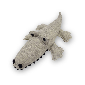 Pet vocal toy molar bite resistant crocodile safety dog educational toy
