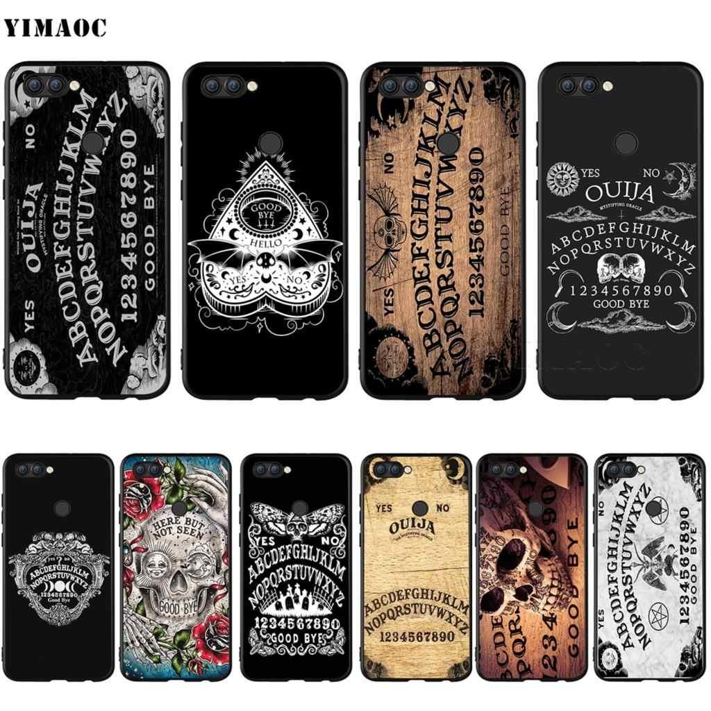 YIMAOC Ouija Board di Caso per Huawei Mate 10 P8 P9 P10 P20 P30 P Smart Lite Pro Mini 2017