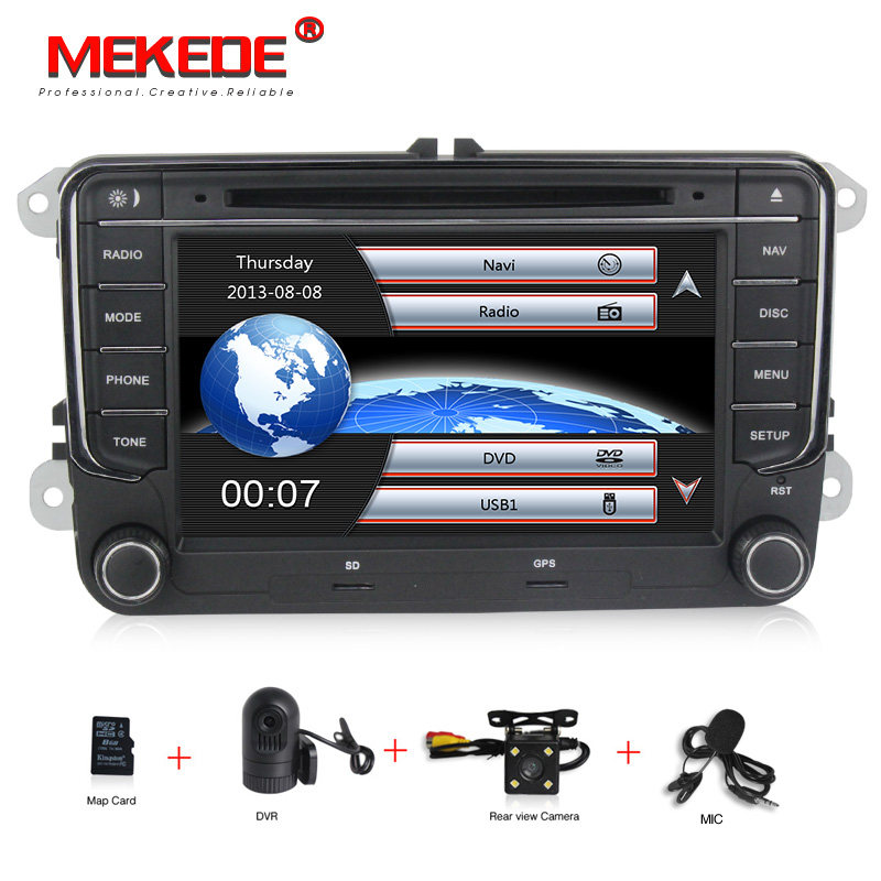 free shipping 7 car gps navi for vw volkswagen golf 6. Black Bedroom Furniture Sets. Home Design Ideas
