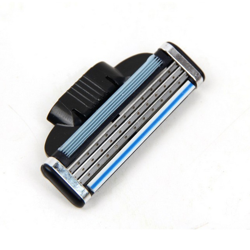 8pcs / Lot High Quality Machlieds Razor Blades For Men 3 Layers Razor Blade Compatible Blade For Gillettee Mache 3 Machine
