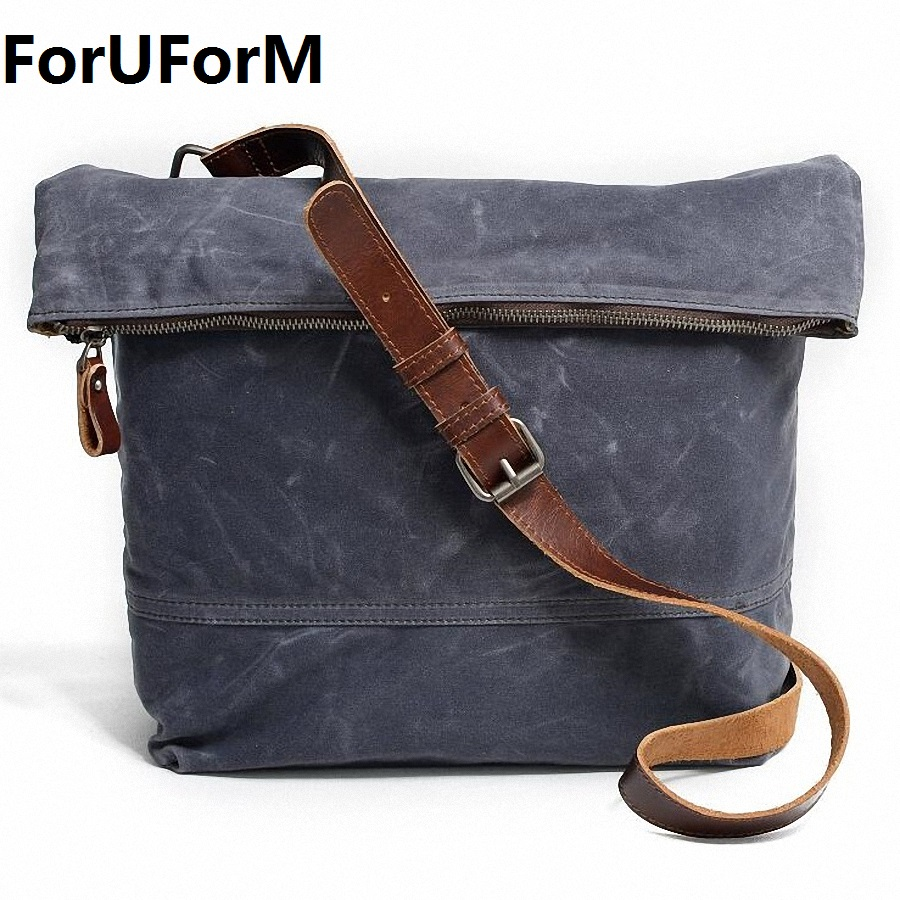 ForUForM 2017 Korean Style New Fashion Men Canvas Bags Casual Men Bag Business Shoulder bag Men Shoulder Messenger Bags LI-1930 osoce men bag sling shoulder bag business casual canvas korean brief bags street office bag green blue gray s1 s2