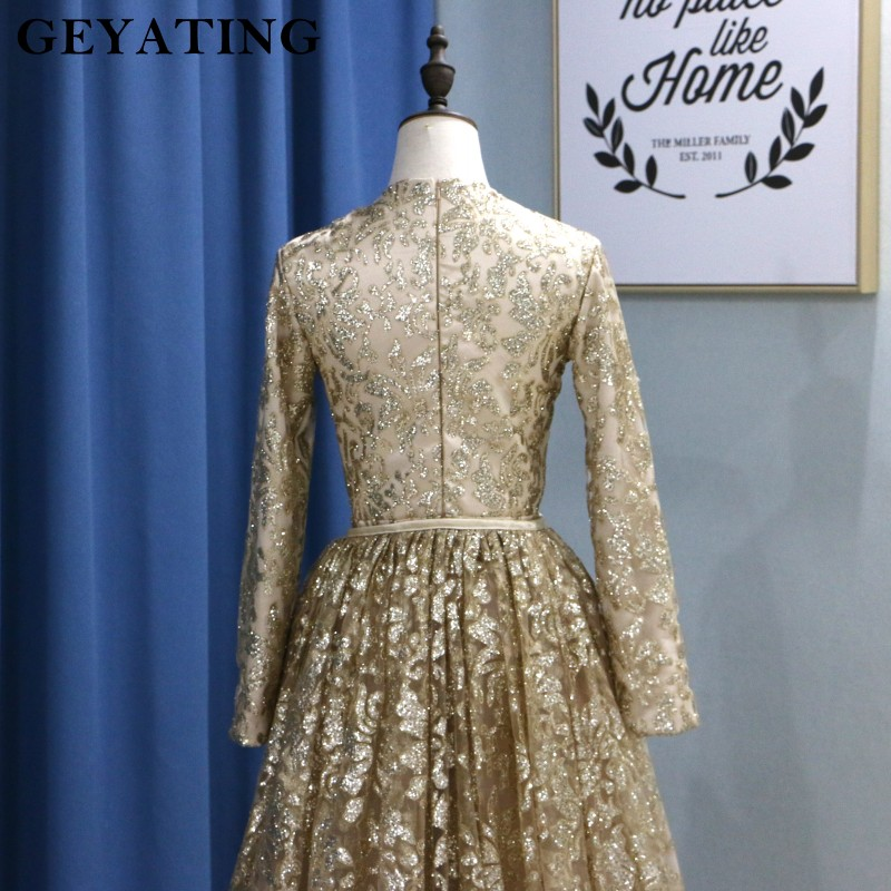 5e288ec15a Yousef Aljasmi Muslim Evening Dresses 2019 Long Sleeves Mermaid Prom Dresses  Arabic Detachable Train Women Formal Party Gowns -in Evening Dresses from  ...