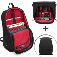 For Nikon Canon Sony 2 in 1 Constitute DSLR Camera Bag Outdoor Camera Backpack Water resistant for Casio Ricoh GR Pentax Leica