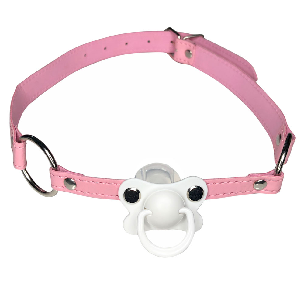 DDLG/ ABDL Choker Gag Pacifier Adult Pacifier Plus Size Dummy ddlg Abdl Pacifier Gag Choker