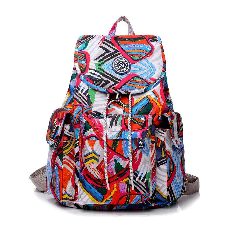 Nylon Backpack Mochila Light-Weight School-Bags Teenage Waterproof Girls Women Fashion