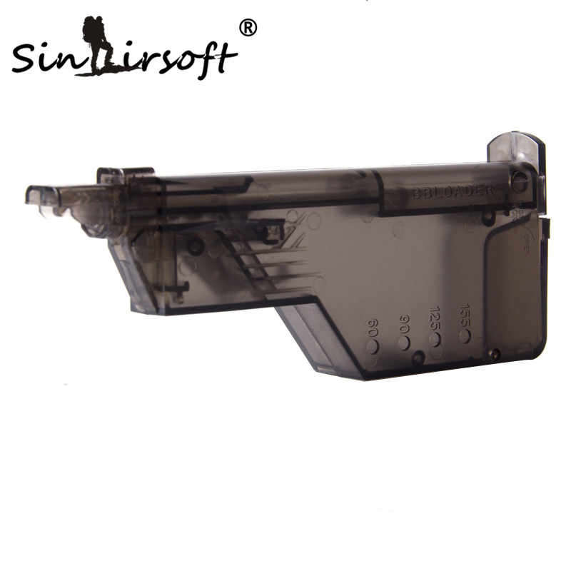SINAIRSOFT New Raptors Airsoft 220rd BB Speed Loader For Airsoft Guns LARGE AIRSOFT SPEED LOADER 220 bb capacity for airsoft