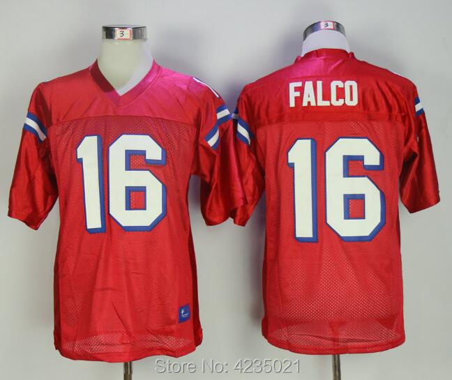 2018 Keanu Reeves Shane Falco #16 Football Jersey Stitched Men The Replacements Movie Jerseys Red S-3XL