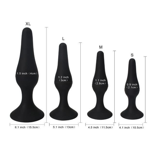 Set Butt Plug Anal Plug Kit Anal Pleasurable