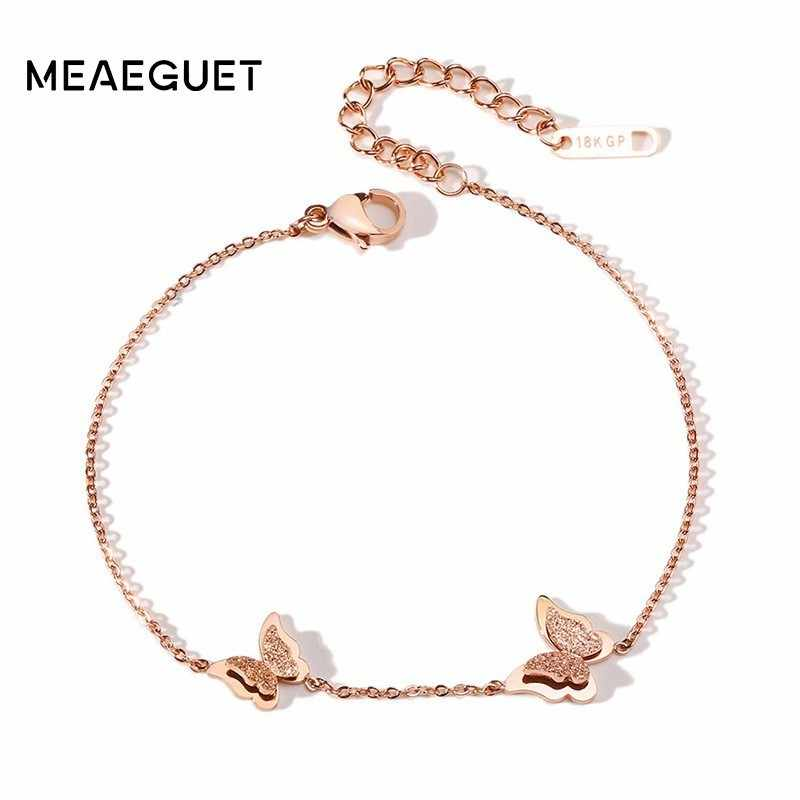 GP 585 Rose Gold Women Anklet Stainless Steel Foot Jewelry Fashion Leg Chain For Women Dropshipping