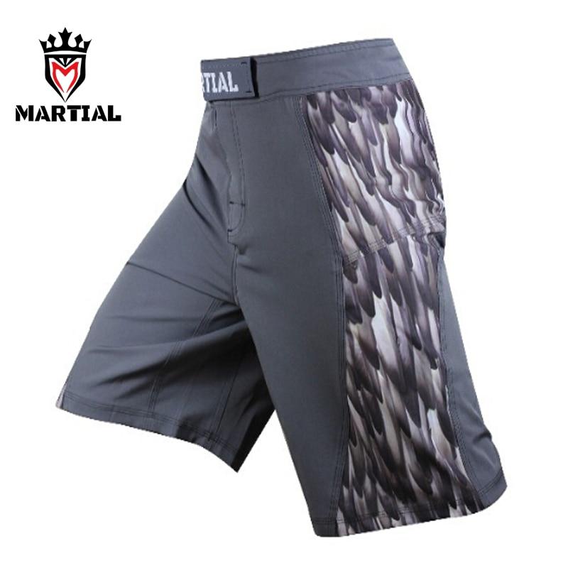 Martial MMa pantalones cortos hombres fitness MMA SHORTS sport boxe - Ropa deportiva y accesorios