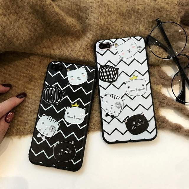 Online Shop Phone Cases For Oppo F7 3D Relief Cute Cat Soft Cases For Oppo  A9 Cartons Silicone Back Covers For Oppo f7 New Cases  4d39303052d2