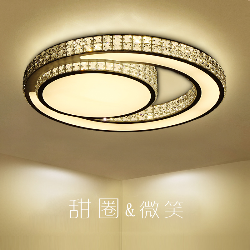 Modern Led Crystal Ceiling Light For Living Room bedroom Hallway Dining room 90-260v Led Lustre Cristal Lamp For Home lighting modern multicolour crystal ceiling lights for living room luminarias led crystal ceiling lamp fixtures for bedroom e14 lighting