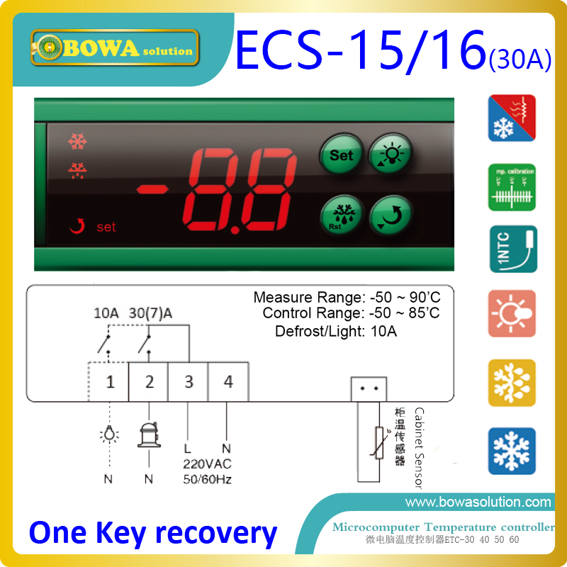 microcomputer temperature controls with light switch suitable for beverage cooler, wine cooler and refrigeration display cabinet quality systems and controls for pharmaceuticals