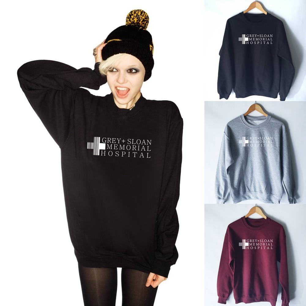 New European American Autumn Winter Women's Sweatshirt Cross Letter Printed Casual Shirt Female Lady Long Sleeves Tops Clothing