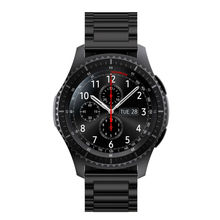 Для Передачи S3 Классический/Frontier Smartwatch Группа 22 ММ Ремешок Из Нержавеющей Стали Замена Пряжки Ремешок на Запястье для Передач S3