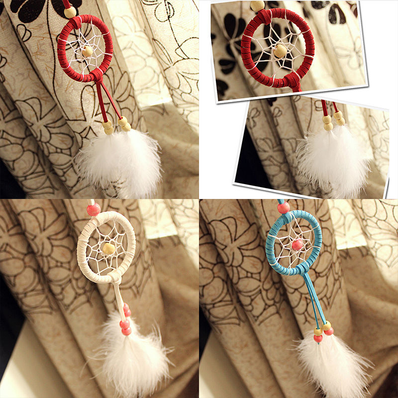 Newest Handmade Dream Catcher Net With feathers Hanging