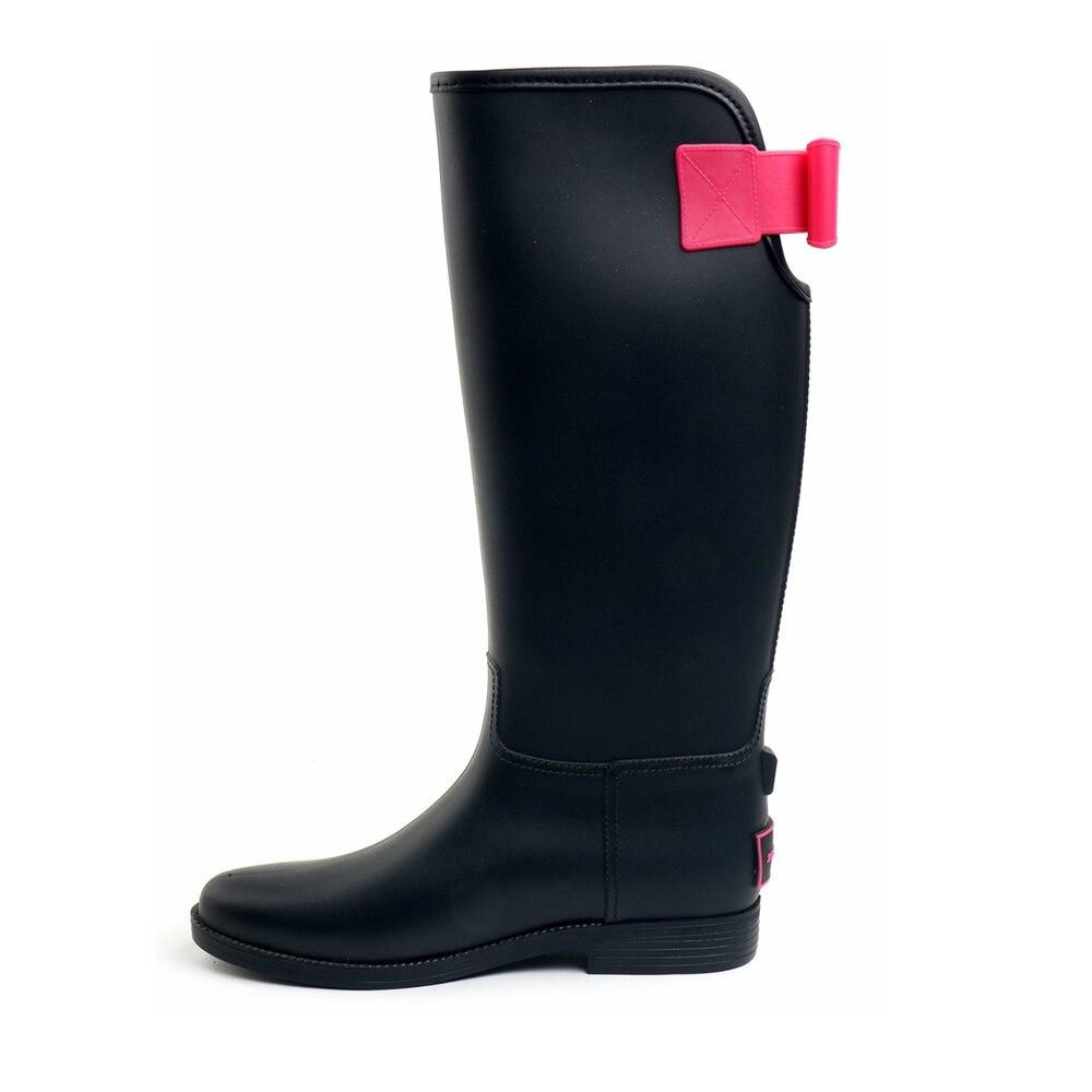Tongpu/женские высокие непромокаемые Сапоги и ботинки для девочек модные Стиль Лидер продаж Удобная нескользящая подошва женские ботинки для ...