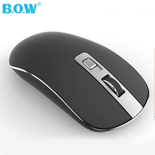 B.O.W  2.4GHz Wireless Mouse(Ergonomic Design) , Wireless Cordless Click Compact  Optical Mice with Nano USB Receiver for PC