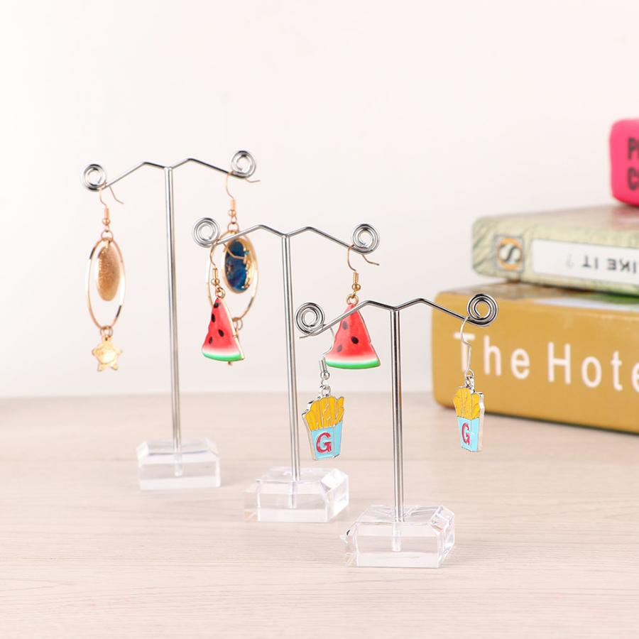 Creative Delicate Jewelry Display Rack Jewelry Stand Holder for Earrings Braelet Necklace Pendant Organizer Hanging Hanger