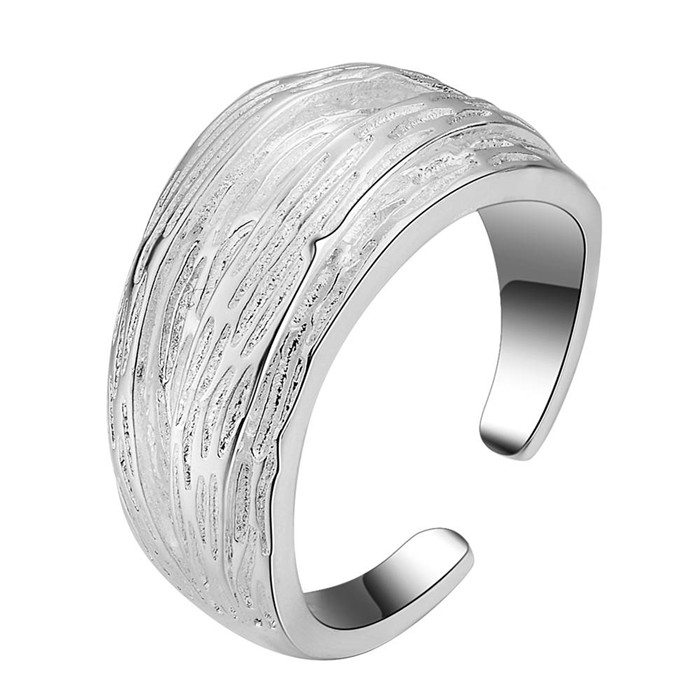 Women 925 Sterling Silver Unique Toggle Design Finger Open Ring Jewellery UK