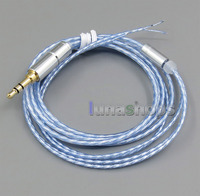 4n OCC Pure Silver Plated Cable For Repair DIY Shure B W JVC SONY Headphone Earphone