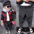 O novo inverno 2016 edição han de roupas infantis Privada adicionar cabelo solto haroun calças calças calças pp frete grátis