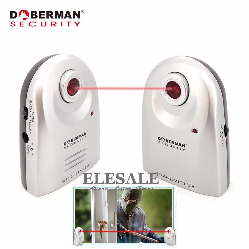 bilder für Doberman Sicherheit SE-0161 Eintrag Defender Infrarot-lichtschranke Willkommen Gerät Alarmanlage 2-In-1 Für Home Security