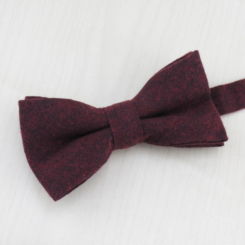 Mens Necktie Moda Qatı Rəngli Yumşaq Pambıq 5.5 sm qalstuk + - Geyim aksesuarları - Fotoqrafiya 5