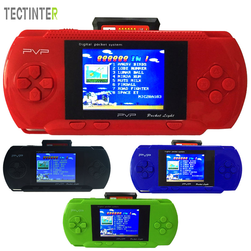 PVP 3000 Station Hand Held Video Game Console Handheld Game Players Game Card