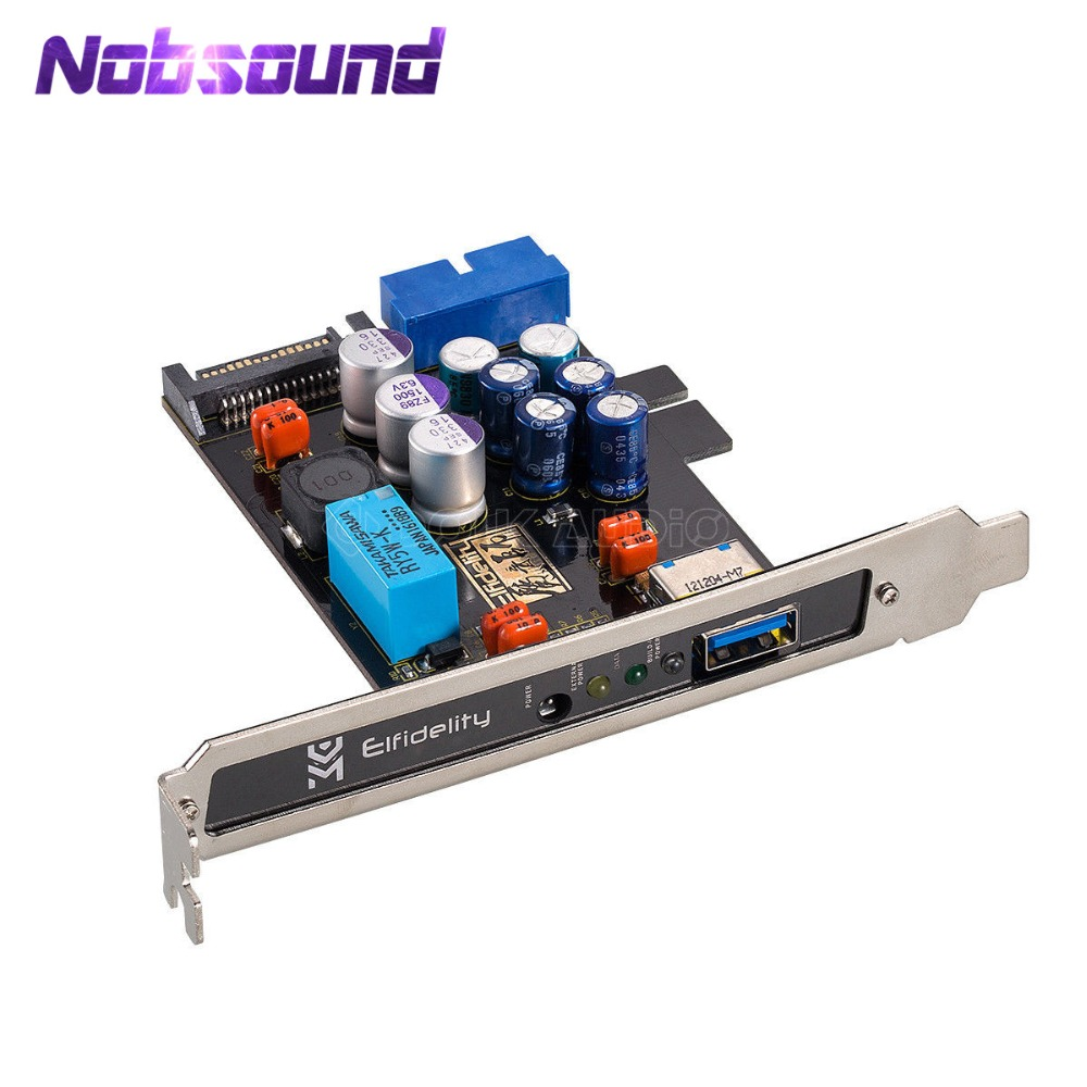 Nobsound Elfidelity AXF 100 USB Power Source HiFi Interface Preamp Internal Filter For USB Audio Device