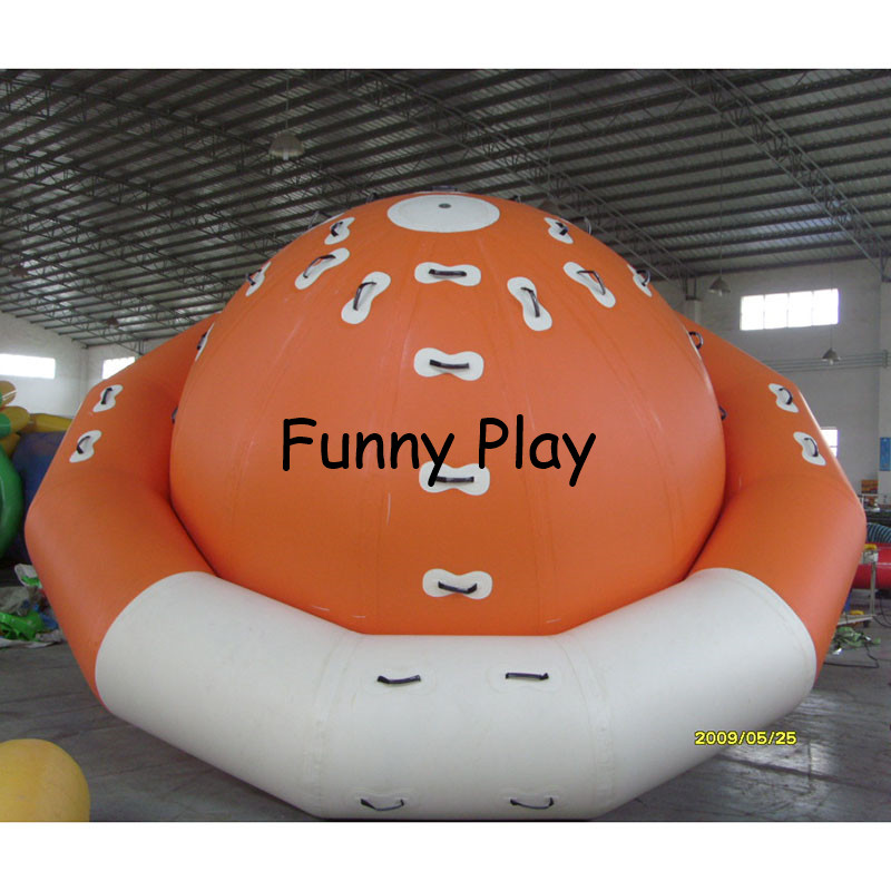 inflatable water gyro game playing inflatable summer water park used for Adult Inflatable Sports Game and water park