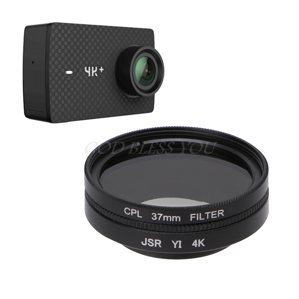 Puluz Junestar Lente Per Action Camera Professionale Xiaomi Xiaoyi Yi Ii 4k 37 Mm