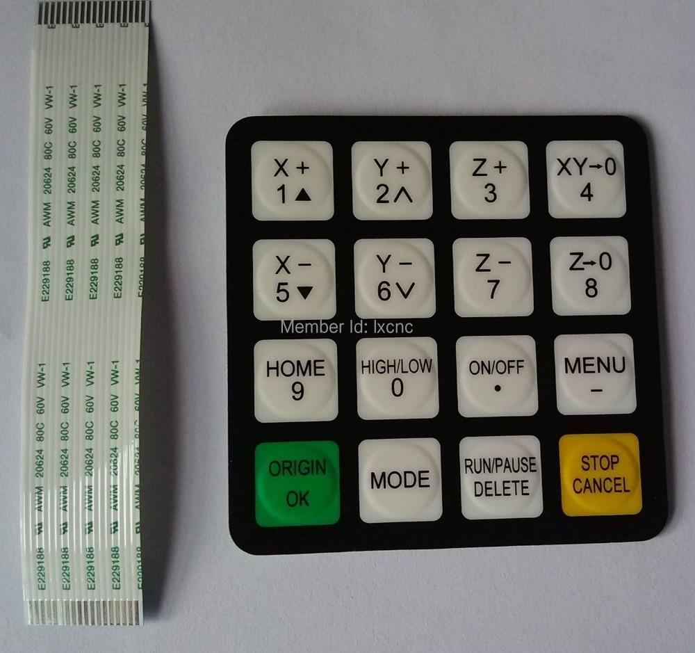 Original CNC Router  DSP Richauto A11 Control Handle Pad Panel