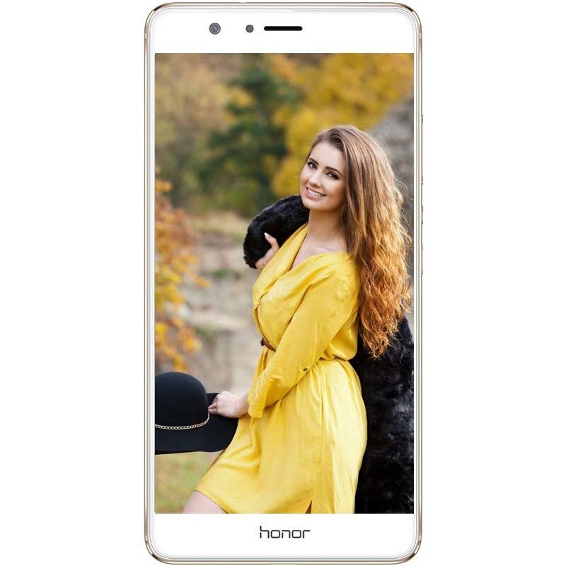"Huawei Honor V8 5,7 ""Android 6,0 восьмиядерный смартфон с отпечатками пальцев Kirin 950 4 ГБ Оперативная память 64 ГБ Встроенная память двойной 12.0MP S"