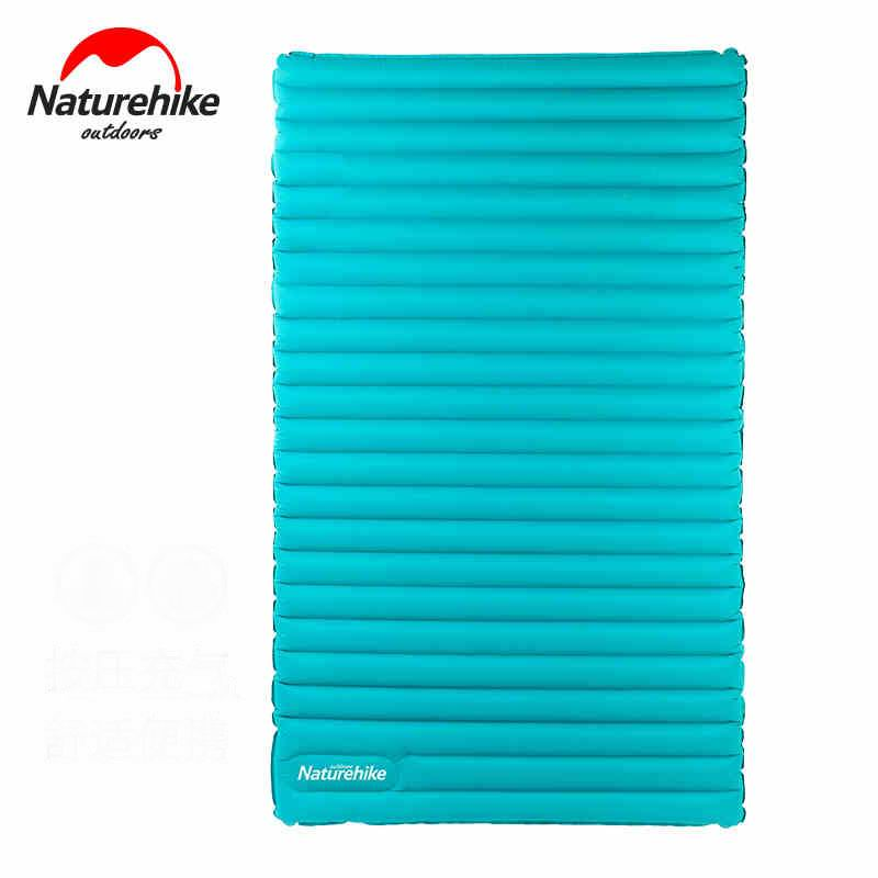TPU Ultralight Double Inflatable Mattress 2-3 People Outdoor Air Cushion Thicken Sleeping Pad Dampproof Mat For Camping Hiking 2 people portable parachute hammock outdoor survival camping hammocks garden leisure travel double hanging swing 2 6m 1 4m 3m 2m