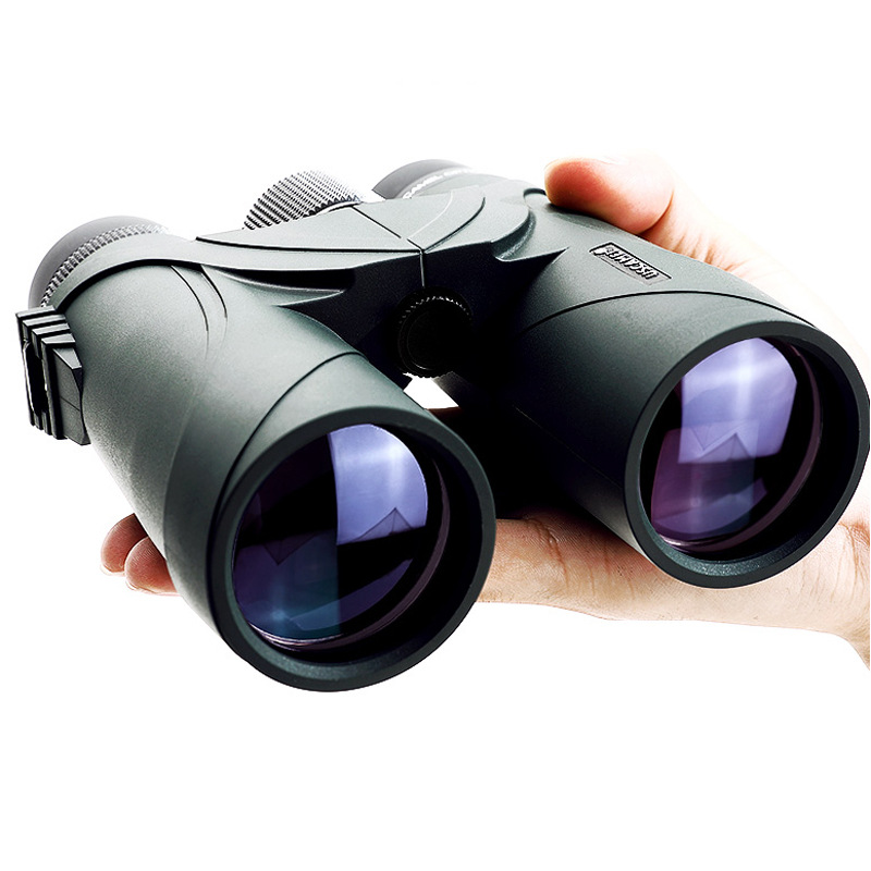 10x42 Waterproof Binoculars For Hunting Tactical Optics Telescope Full Multicoated Monocular Birdwatching Binoculars 2017 new arrival all optical hd waterproof fmc film monocular telescope 10x42 binoculars for outdoor travel hunting