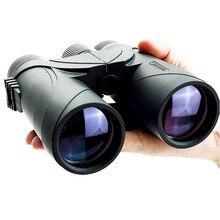 10x42 Waterproof Binoculars For Hunting Tactical Optics Telescope Full Multicoated Monocular Birdwatching Binoculars cat optics 10x42 open bridge binoculars birdwatching hunting waterproof bak4 brand new