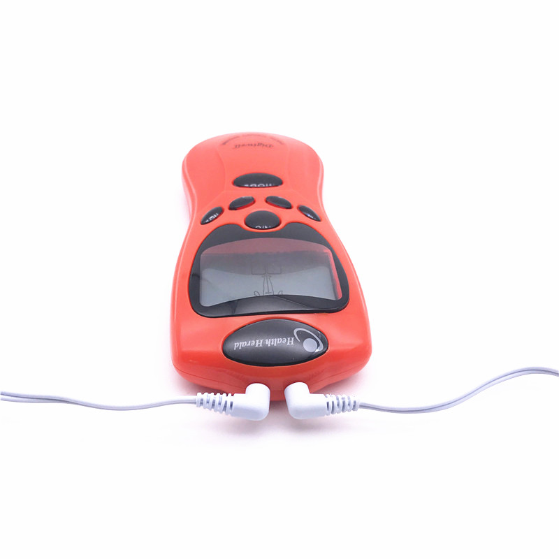 Dual Output 8 Electrodes Electric Tens Unit Body Therapy Massager Machine Electronic Pulse Massage Relax Muscle Stimulator