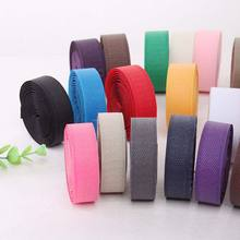 12meter/pairs 25mm colorful adhesive Hook and Loop fastener Tape No Glue the hooks Sewing-on strips Magic tape DIY accessories