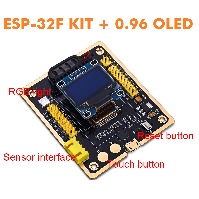 Image 2 - ESP 32F WiFi+Bluetooth Ultra Low Power Consumption Development Board Dual Core ESP 32 ESP 32F ESP32 Similar M5Stack for arduino-in Replacement Parts & Accessories from Consumer Electronics