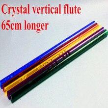 Crystal Flute Xiao key of G Woodwind music instrument Clarinet one section short Xiao Flauta Profissional Dizi bamboo