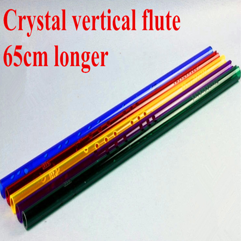 Crystal Flute Xiao key of G Woodwind music instrument Clarinet one section short Xiao Flauta Profissional Dizi bamboo