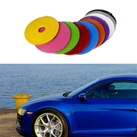 8 Meter Car Wheel Trim Alloy Wheel Arch Protector Rim Guard Adhesive Roll For Volvo Peugeot