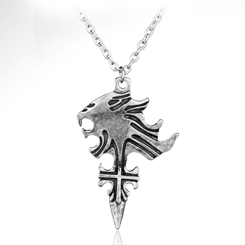 Винтажное игровое украшение dongsheng, FF8 Final Fantasy, ожерелье с подвеской в виде сжимающего льва, сердца, для косплея