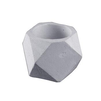 Geometrica di Cemento Vaso di Fiori Stampo Succulente Piante Cemento Fioriera Muffa Handmade del Giardino Bonsai Strumento