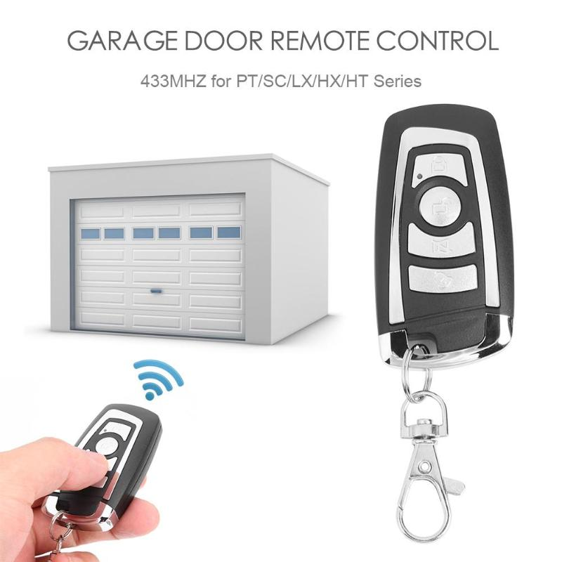 AK-1080A Garage Gate Door Remote Control Replacement Garage Command Fixed Code <font><b>Radio</b></font> Installation Launch Distance <font><b>50</b></font>-100m image