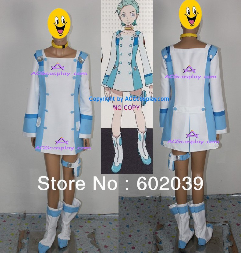 Eureka Seven Eureka Cosplay Costume include boots cover GOOD quality ACGcosplay